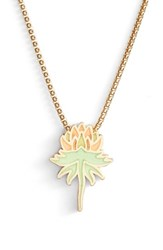 Alex And Ani X Disney 'A Wrinkle In Time' Uriel Flower Adjustable Necklace Gold