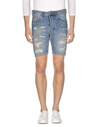 M.Grifoni Denim Bermudas Blue