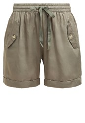 Culture Andras Shorts Army Delight Khaki