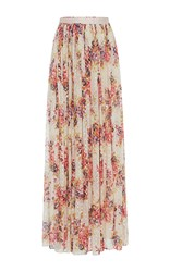 Needle And Thread Prairie Rose Floral Maxi Skirt