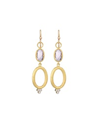 Jude Frances Couture Double Drop Earrings