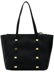 Salvatore Ferragamo Emotion Large Tote Black