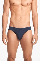 Men's Calvin Klein 'U5552' Micromodal Bikini Briefs Blue Shadow