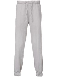 Onia Tapered Trousers Grey