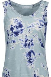 Kain Label Beryl Printed Stretch Modal Tank Sky Blue