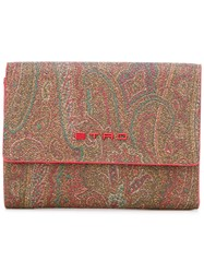 Etro Abstract Print Wallet