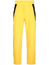 Iceberg Side Stripe Track Trousers Yellow