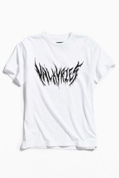 Raised By Wolves Valkyrie Tee White