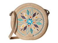 Toms Embroidered Crossbody Natural Cross Body Handbags Beige