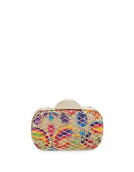 Franchi Maura Caged Minaudiere Multi Colored