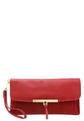 Kiomi Clutch Rusty Red Dark Red