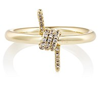 Fallon Women's Barbed Wire Ring Gold
