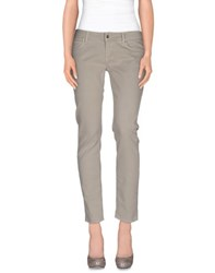 Up Jeans Trousers Casual Trousers Women Light Grey