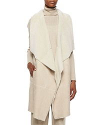 Lafayette 148 New York Carolina Lamb Fur Vest Women's