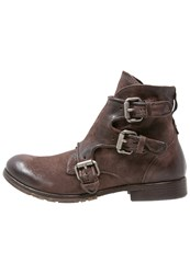 A.S.98 Clash Laceup Boots Choco Dark Brown