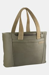 Briggs And Riley 'Large Baseline' Shopping Tote Green