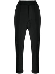 Y 3 Tailored Style Track Pants Black