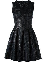 Philipp Plein 'The Avengers' Dress Black