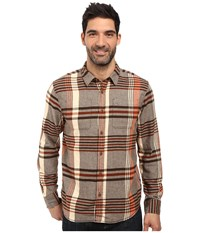 Prana Delaney Flannel Brown Men's Clothing
