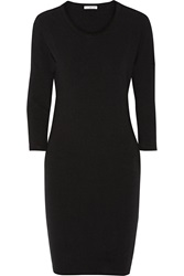 James Perse Stretch Cotton Jersey Dress
