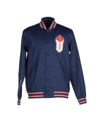 Undefeated Coats And Jackets Jackets Men Dark Blue