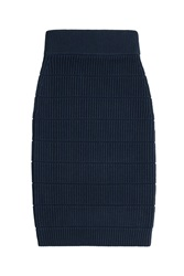 Marc By Marc Jacobs Merino Wool Skirt Blue