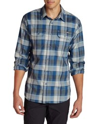 Eddie Bauer Expedition Casual Button Down Shirt Guide Green