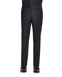 Etro Mini Jacquard Evening Trousers Black