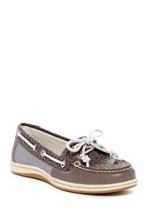 Sperry Firefish Embossed Boat Shoe Wide Width Available Gray