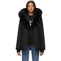 Mackage Black Adali Powder Touch Down Coat