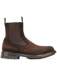 Officine Creative Exeter Chelsea Boots Brown