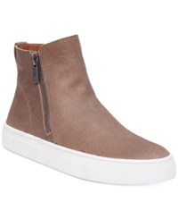 Lucky Brand Women's Bayleah High Top Sneakers Women's Shoes Brindle