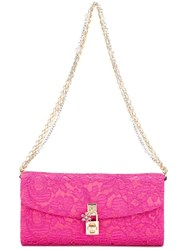Dolce And Gabbana Clutch Pink Purple