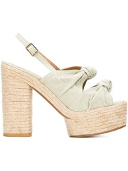 Castaner Castaner 'Abbey' Sandals Green