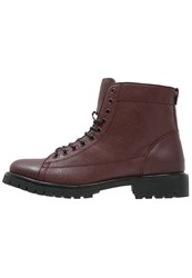 Peter Werth Laceup Boots Oxblood Bordeaux