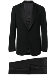 Giorgio Armani Classic Two Piece Suit Black