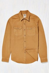 Levi's Monks Robe Canvas Button Down Shirt Light Brown