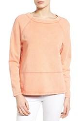 Caslonr Women's Caslon Sweatshirt Orange Ember