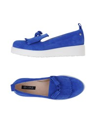 Cuple Footwear Moccasins Women Blue