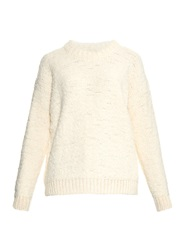 Mih Jeans Bird Boucle Knit Sweater