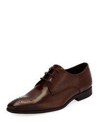 Bruno Magli Rosque Lace Up Dress Shoe Brown