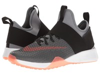 Nike Air Zoom Strong Cool Grey Total Crimson Black Women's Shoes Gray