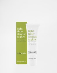 This Works Light Time Cleanse And Glow 75Ml Clear