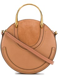 Chloe Pixie Tote Bag Nude And Neutrals