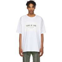 Fear Of God White Sixth Collection T Shirt
