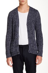 Sandro Condor Long Sleeve Cardigan Blue