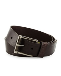 Robert Graham Grassini Paisley Loop Belt Brown