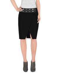 Pinko Skirts Knee Length Skirts Women Black