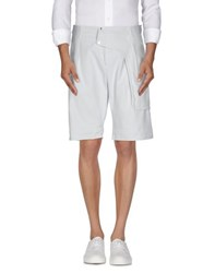 Dirk Bikkembergs Sport Couture Trousers Bermuda Shorts Men Light Grey