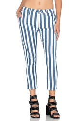 Publish Sullie Crop Jean Navy Stripe